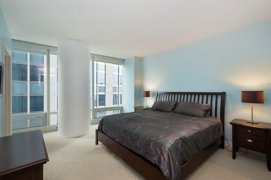 Real Estate Photography - 340 E Randolph Street, #1906, Chicago, IL, 60601 - Bedroom