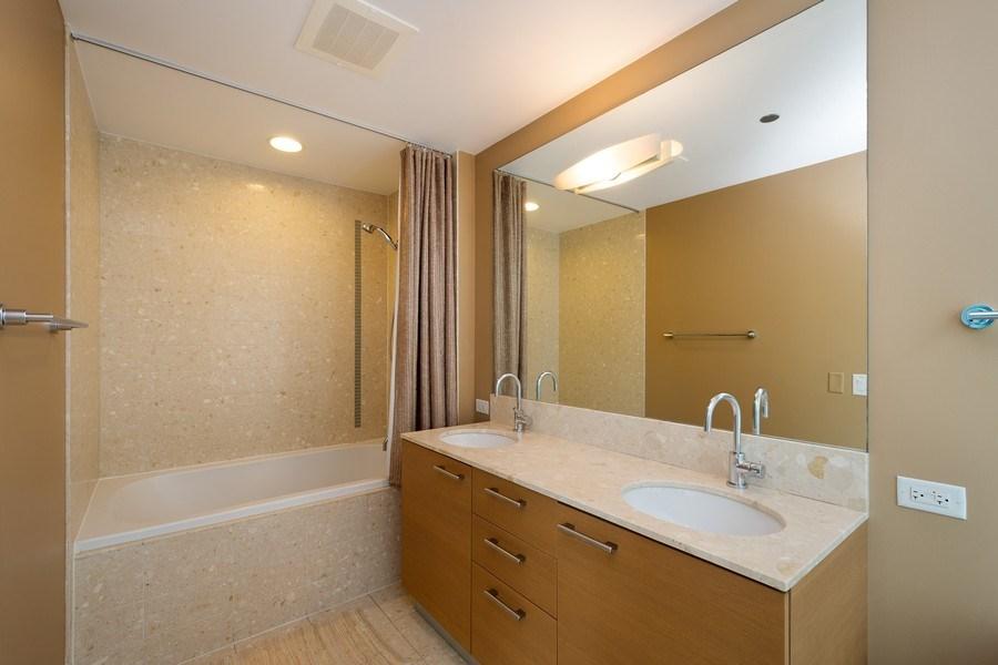 Real Estate Photography - 340 E Randolph Street, #1906, Chicago, IL, 60601 - Bathroom