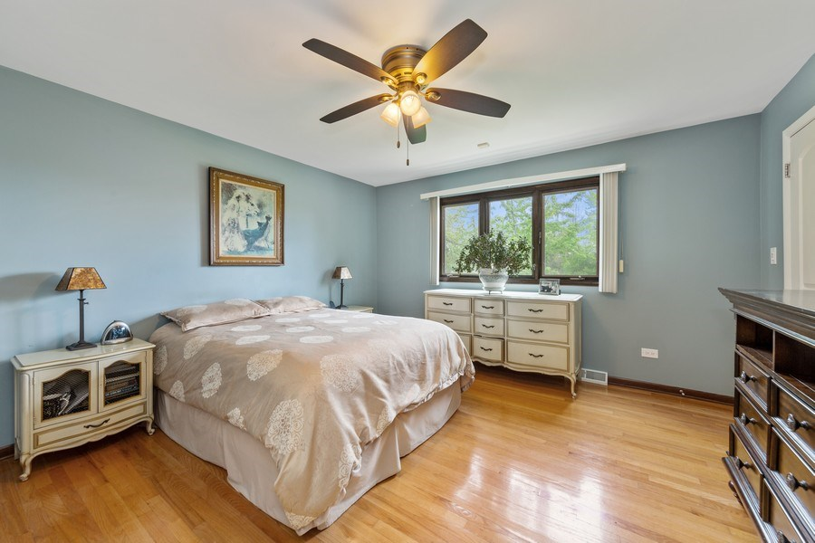 Real Estate Photography - 231 RODGERS CT, WILLOWBROOK, IL, 60527 - 2nd Bedroom