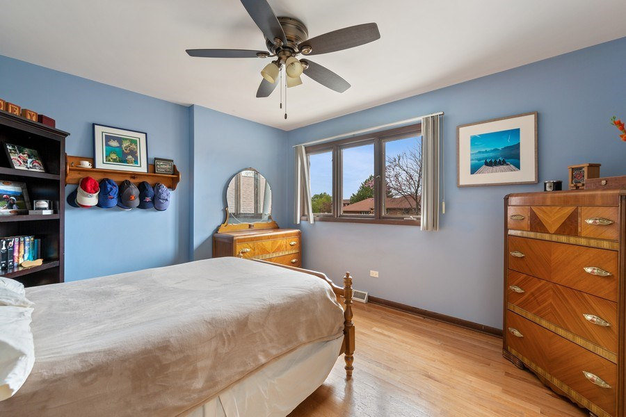 Real Estate Photography - 231 RODGERS CT, WILLOWBROOK, IL, 60527 - 4th Bedroom