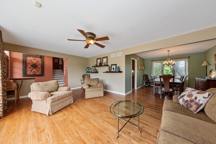 Real Estate Photography - 231 RODGERS CT, WILLOWBROOK, IL, 60527 - Living Room / Dining Room