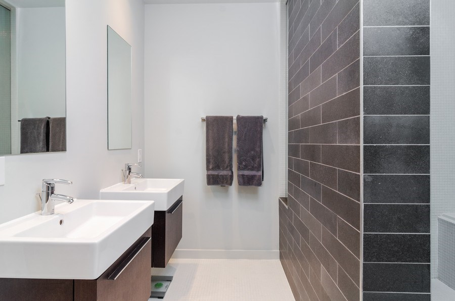 Real Estate Photography - 1919 West Crystal, #205, Chicago, IL, 60622 - Master Bathroom