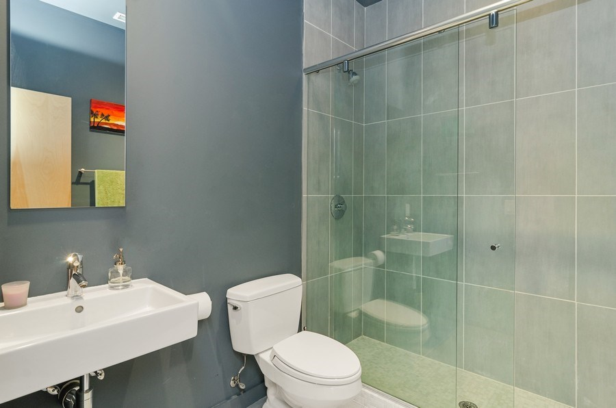 Real Estate Photography - 1919 West Crystal, #205, Chicago, IL, 60622 - Bathroom