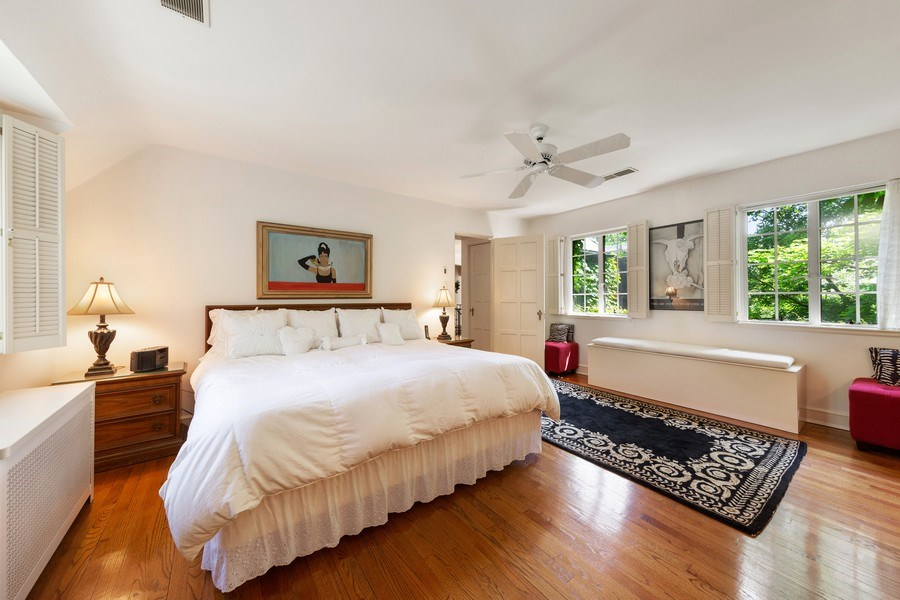 Real Estate Photography - 801 S. County Line Road, Hinsdale, IL, 60521 - Bedroom
