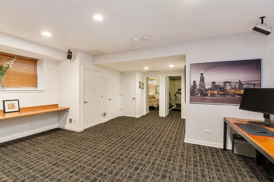 Real Estate Photography - 1545 W Altgeld St, Chicago, IL, 60614 - Lower Level