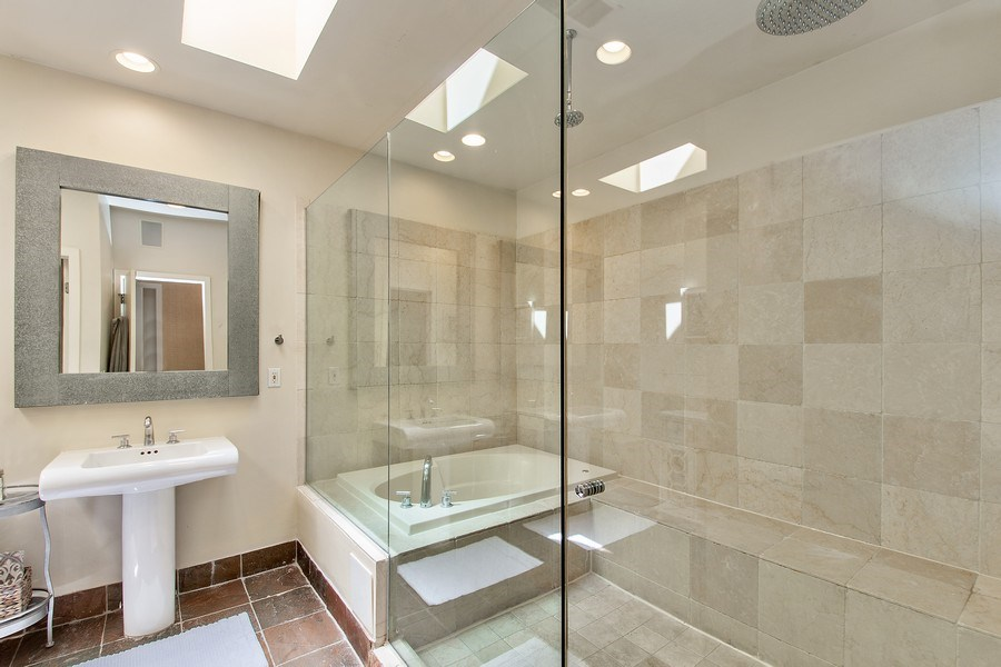 Real Estate Photography - 1545 W Altgeld St, Chicago, IL, 60614 - Master Bathroom