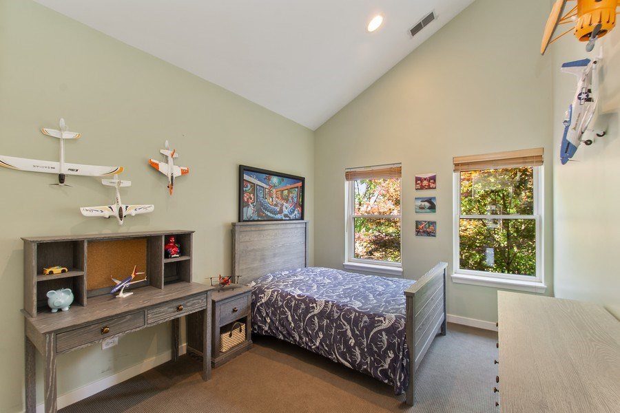 Real Estate Photography - 1545 W Altgeld St, Chicago, IL, 60614 - Bedroom