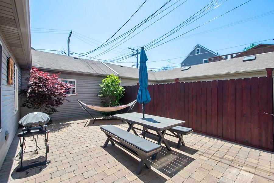 Real Estate Photography - 1545 W Altgeld St, Chicago, IL, 60614 - Patio