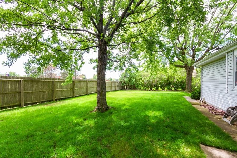 Real Estate Photography - 7565 Glenshire, Frankfort, IL, 60423 - Back Yard