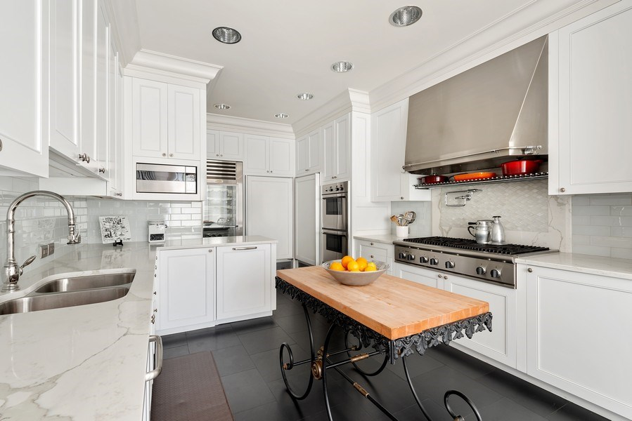 Real Estate Photography - 199 E Lake Shore, PH10W, Chicago, IL, 60611 - Dine-in Kitchen, Another View
