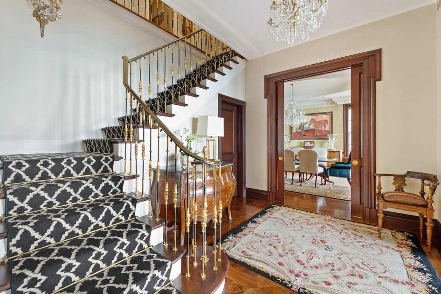 Real Estate Photography - 199 E Lake Shore, PH10W, Chicago, IL, 60611 - Reception Foyer, Another View
