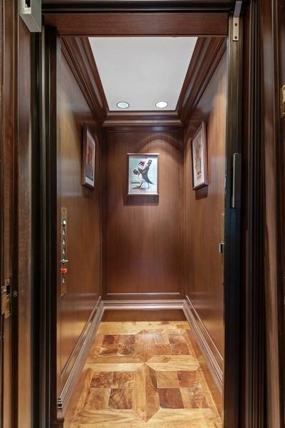 Real Estate Photography - 199 E Lake Shore, PH10W, Chicago, IL, 60611 - Private Residence Elevator