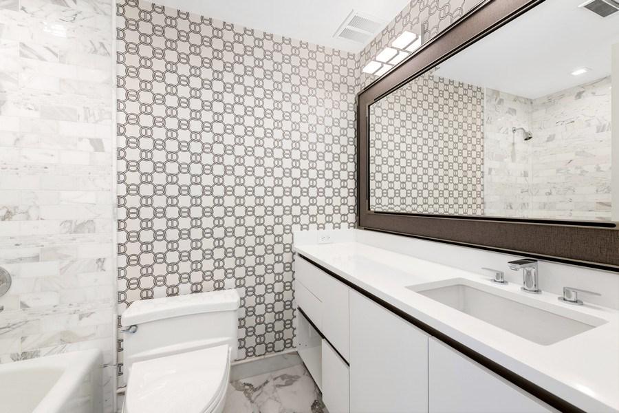 Real Estate Photography - 180 E Pearson, 5803, Chicago, IL, 60611 - 3rd Bathroom