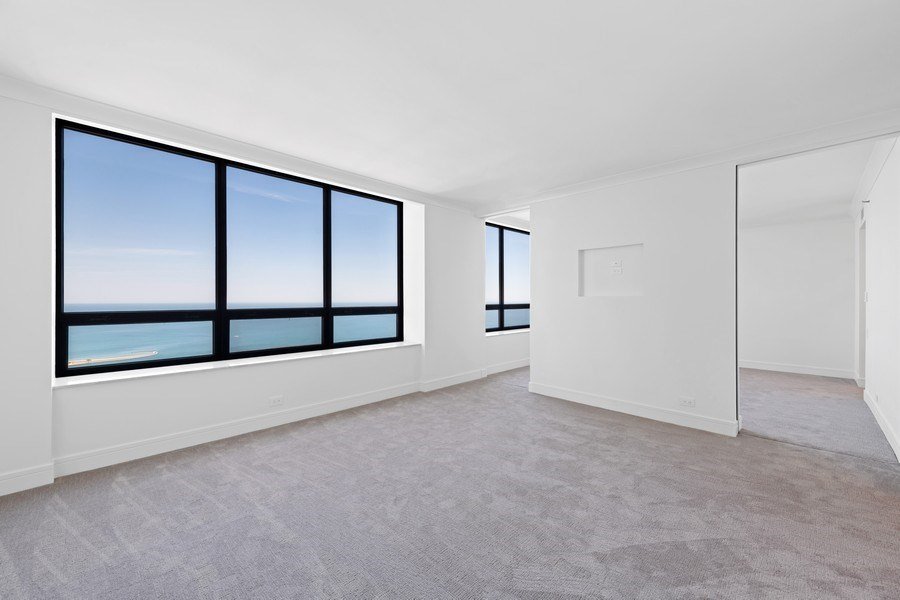 Real Estate Photography - 180 E Pearson, 5803, Chicago, IL, 60611 - Master Bedroom