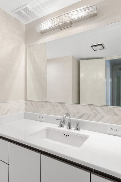 Real Estate Photography - 180 E Pearson, 5803, Chicago, IL, 60611 - Master Bathroom