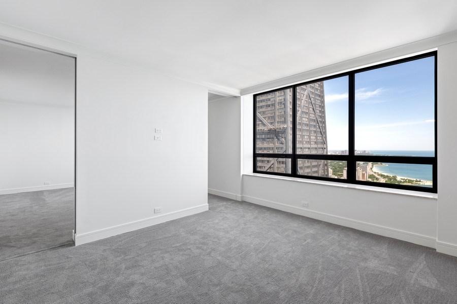 Real Estate Photography - 180 E Pearson, 5803, Chicago, IL, 60611 - Second Bedroom