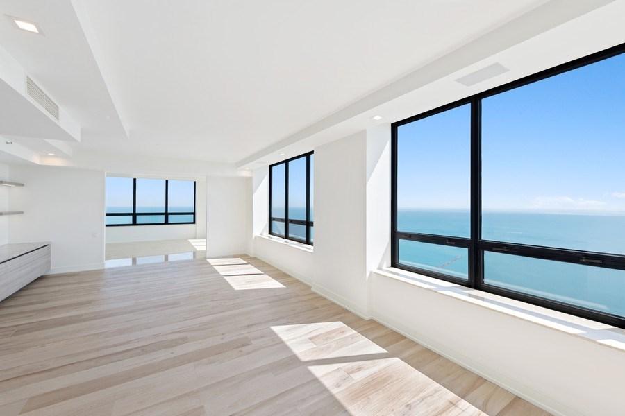 Real Estate Photography - 180 E Pearson, 5803, Chicago, IL, 60611 - Family Room