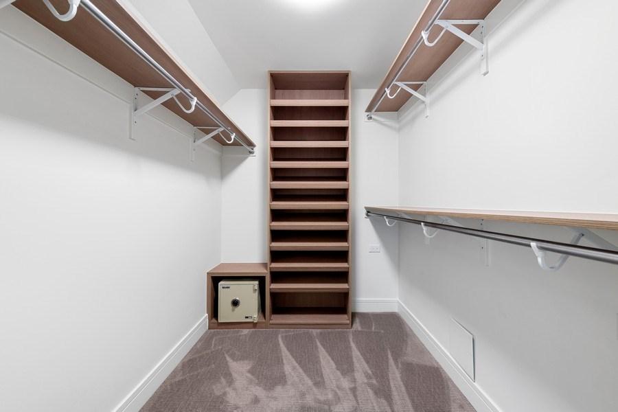 Real Estate Photography - 180 E Pearson, 5803, Chicago, IL, 60611 - His walk-in closet