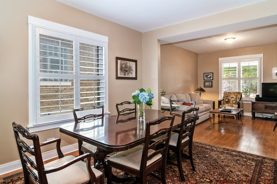 Real Estate Photography - 932 Circle Ave, Forest Park, IL, 60130 - Dining Area