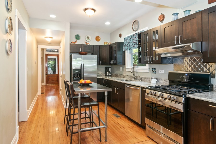 Real Estate Photography - 932 Circle Ave, Forest Park, IL, 60130 - Kitchen