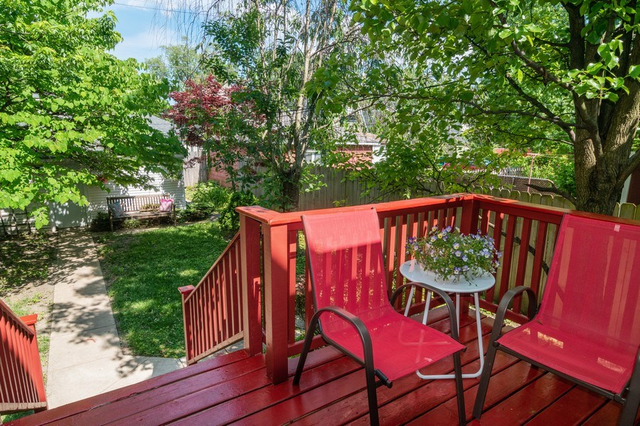 Real Estate Photography - 932 Circle Ave, Forest Park, IL, 60130 - Deck