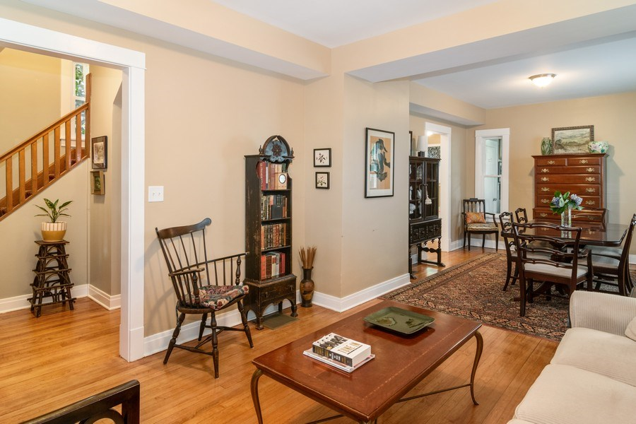 Real Estate Photography - 932 Circle Ave, Forest Park, IL, 60130 - Living Room / Dining Room
