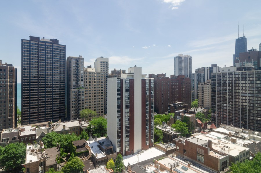 Real Estate Photography - 1440 North State Pkwy, 20D, Chicago, IL, 60610 - City View