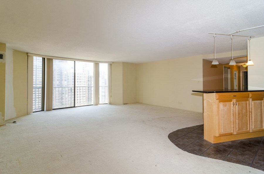Real Estate Photography - 1440 North State Pkwy, 20D, Chicago, IL, 60610 - Living Room