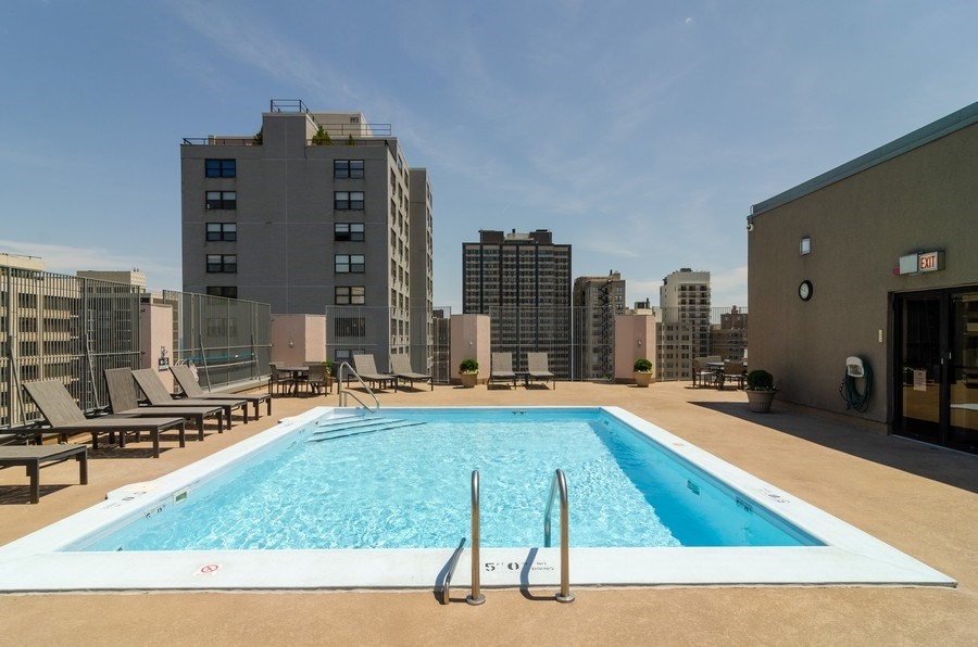 Real Estate Photography - 1440 North State Pkwy, 20D, Chicago, IL, 60610 - Pool