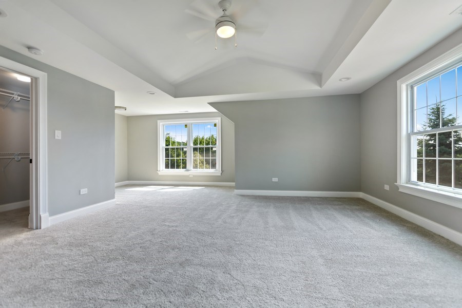 Real Estate Photography - 61 Silo Ridge, Orland Park, IL, 60467 - 3rd Bedroom