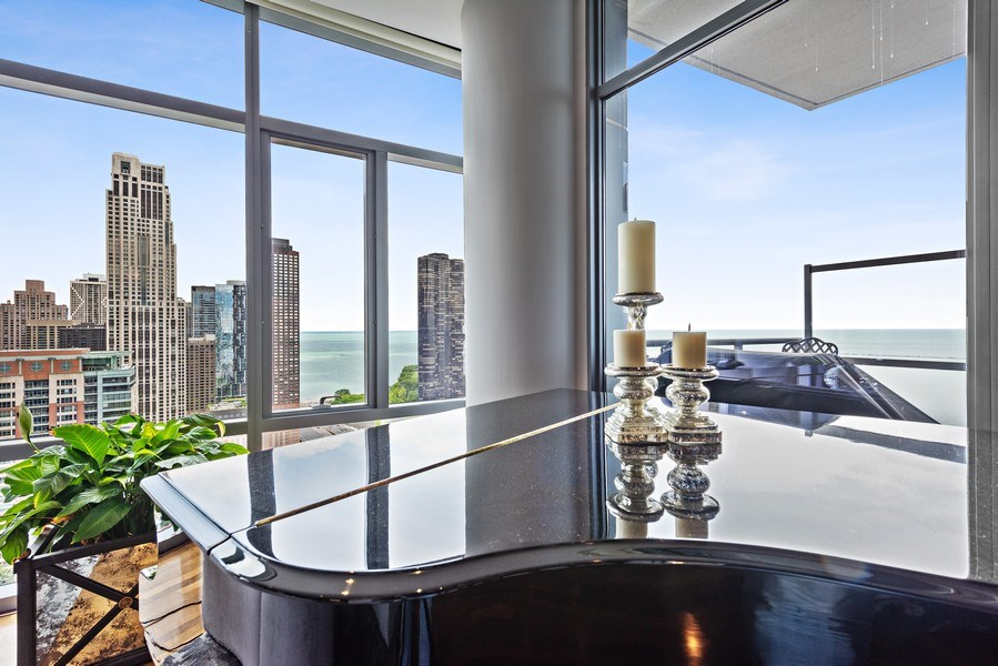 Real Estate Photography - 450 E. Waterside, Apt. 3001, Chicago, IL, 60601 - View