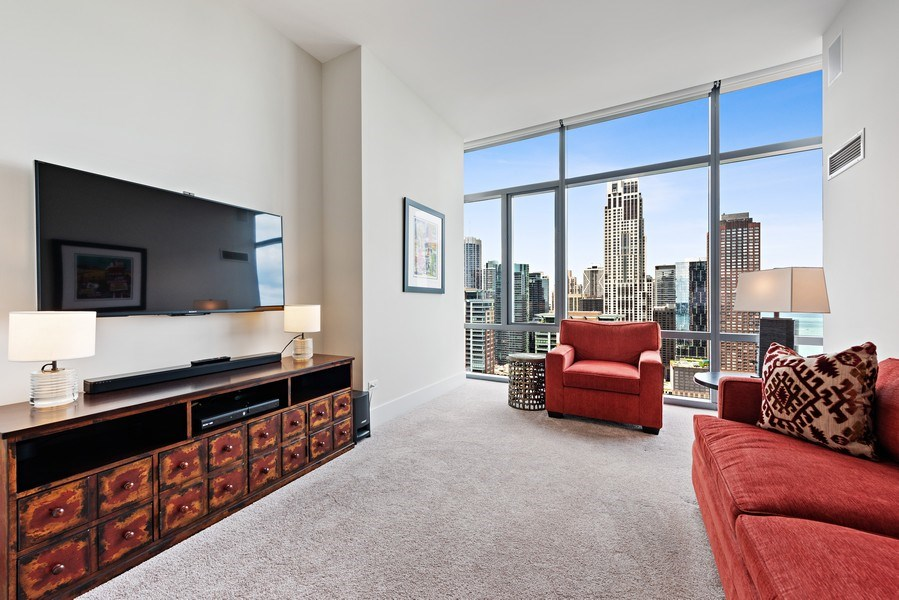 Real Estate Photography - 450 E. Waterside, Apt. 3001, Chicago, IL, 60601 - 2nd Bedroom