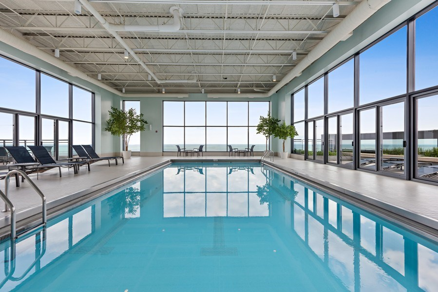 Real Estate Photography - 450 E. Waterside, Apt. 3001, Chicago, IL, 60601 - Pool