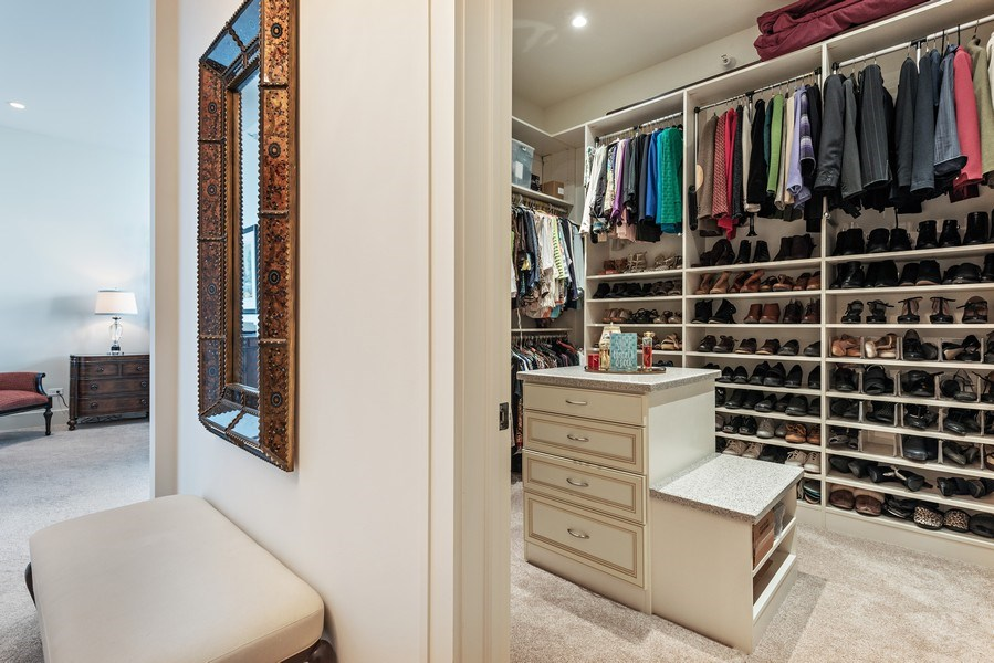 Real Estate Photography - 450 E. Waterside, Apt. 3001, Chicago, IL, 60601 - Master Bedroom Closet