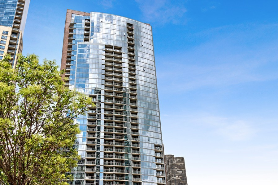 Real Estate Photography - 450 E. Waterside, Apt. 3001, Chicago, IL, 60601 - Front View