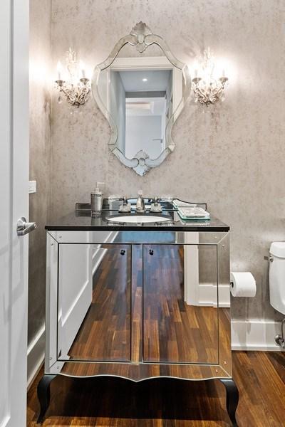 Real Estate Photography - 450 E. Waterside, Apt. 3001, Chicago, IL, 60601 - Half Bath