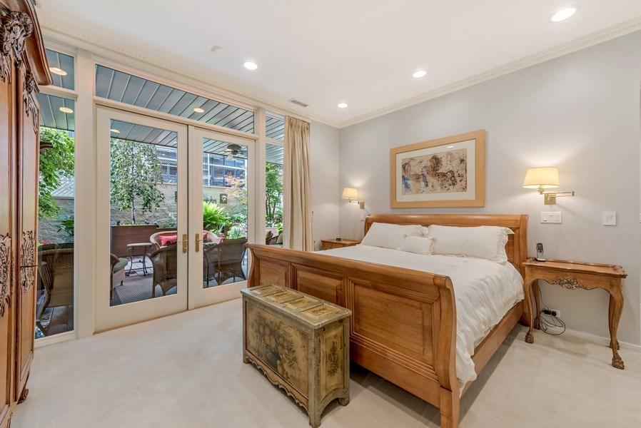 Real Estate Photography - 45 E. Cedar, Suite 2, Chicago, IL, 60610 - Master Bedroom