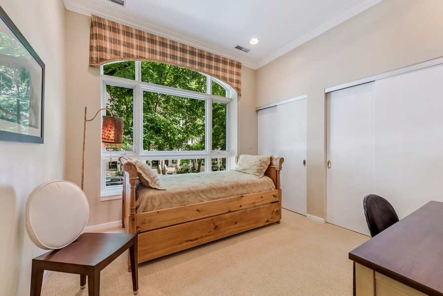 Real Estate Photography - 45 E. Cedar, Suite 2, Chicago, IL, 60610 - 3rd Bedroom