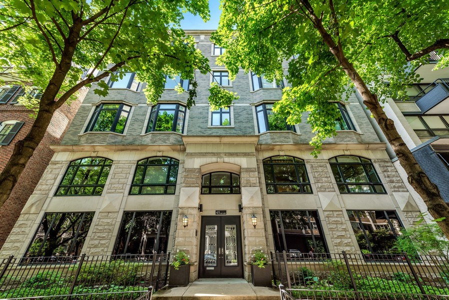 Real Estate Photography - 45 E. Cedar, Suite 2, Chicago, IL, 60610 - Front View