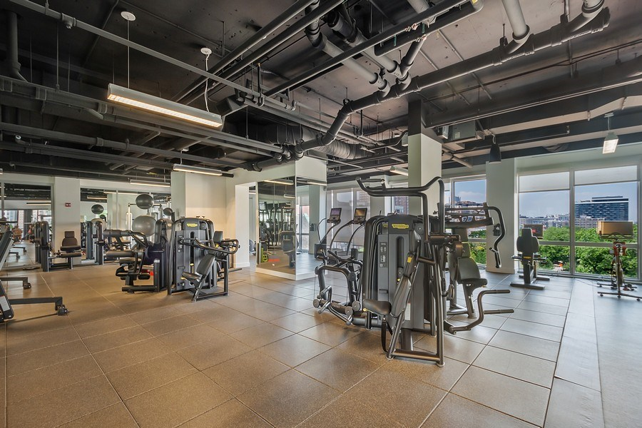 Real Estate Photography - 2 W. Delaware 1504, Chicago, IL, 60610 - Fitness Center