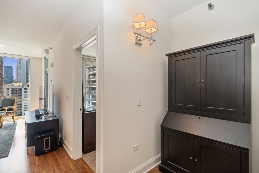 Real Estate Photography - 2 W. Delaware 1504, Chicago, IL, 60610 - Office/Potential Wet Bar