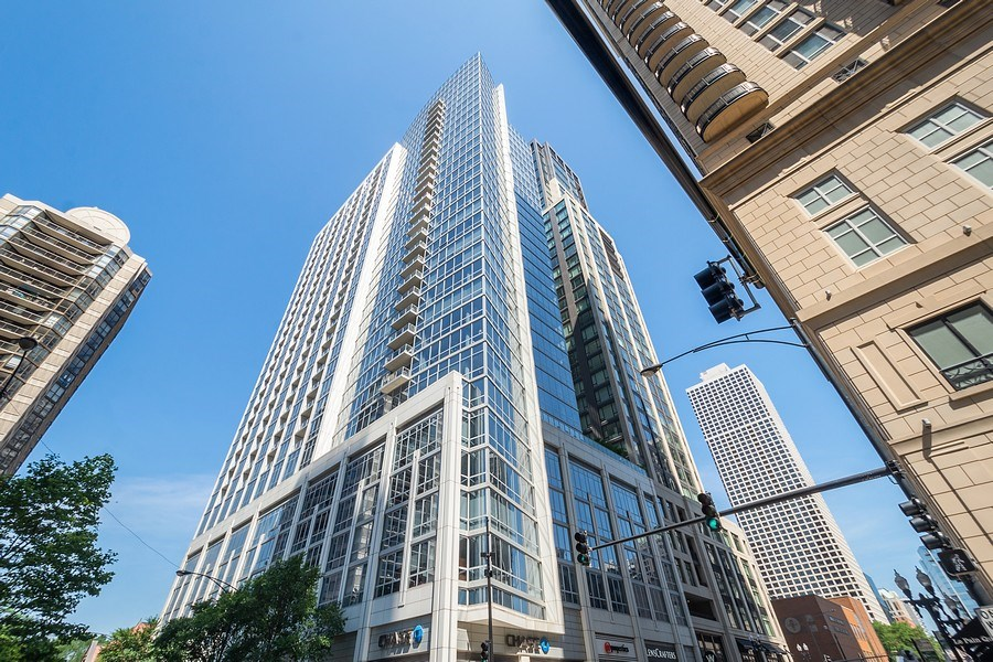 Real Estate Photography - 2 W. Delaware 1504, Chicago, IL, 60610 - Front View