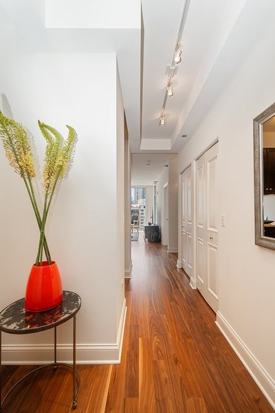 Real Estate Photography - 2 W. Delaware 1504, Chicago, IL, 60610 - Entry Hall