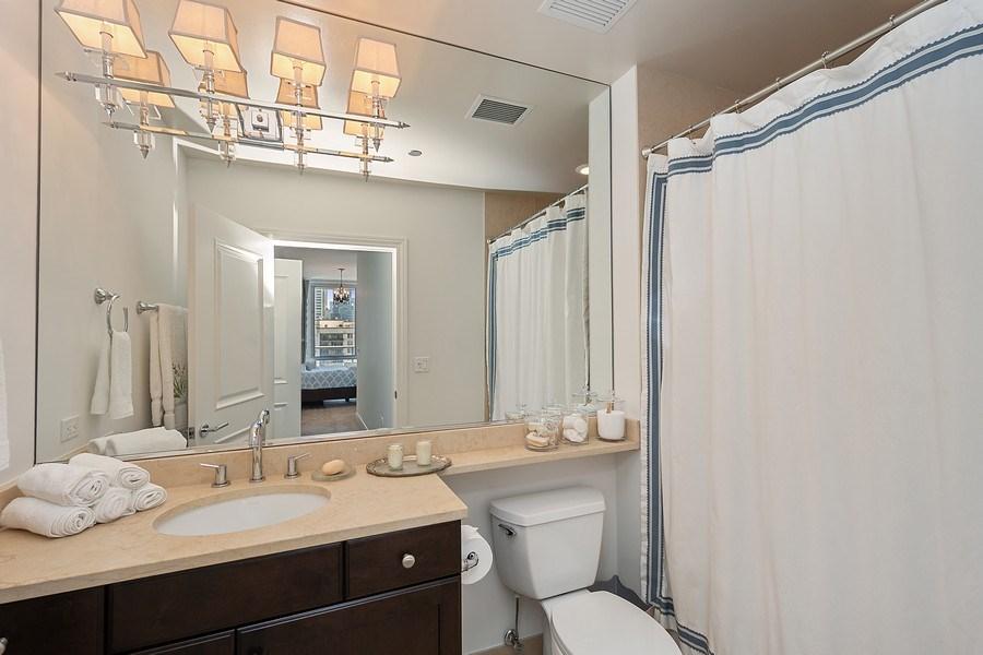 Real Estate Photography - 2 W. Delaware 1504, Chicago, IL, 60610 - Master Bath
