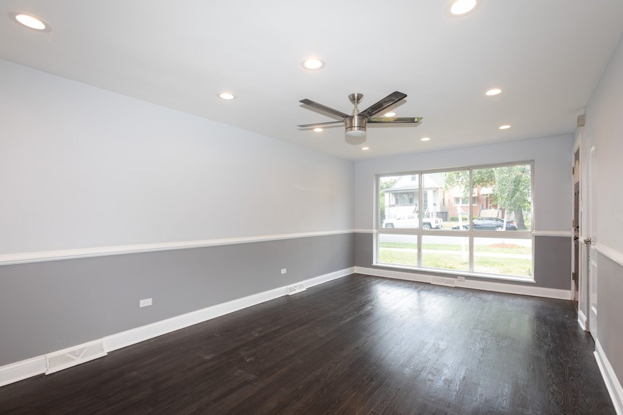 Real Estate Photography - 1719 E. 93RD, chicago, IL, 60617 - Living Room
