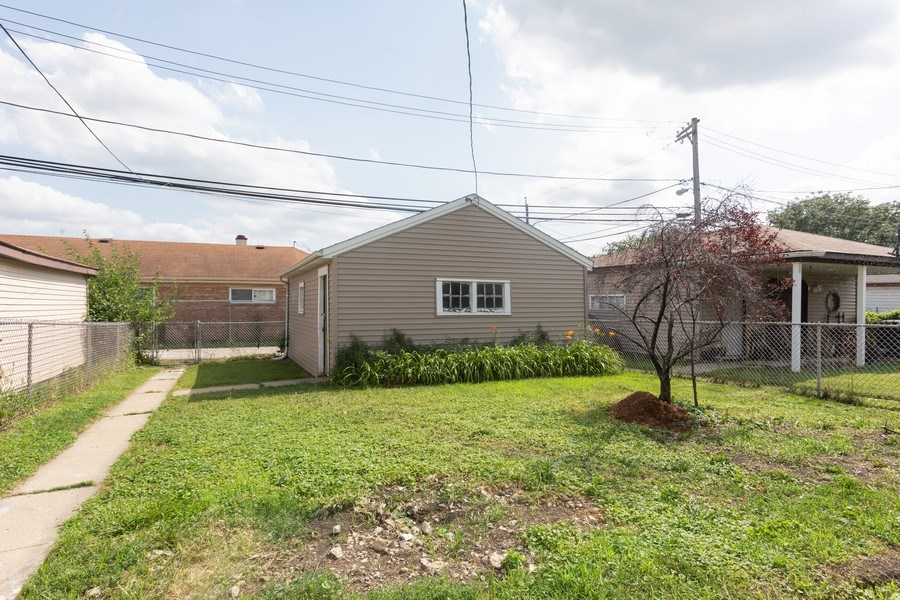 Real Estate Photography - 1719 E. 93RD, chicago, IL, 60617 - Back Yard