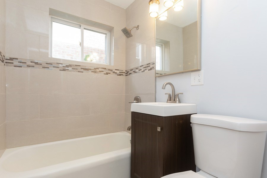Real Estate Photography - 1719 E. 93RD, chicago, IL, 60617 - Bathroom
