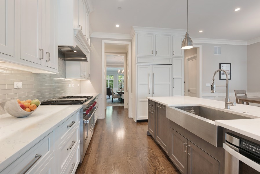 Real Estate Photography - 3932 N Bell Ave, Chicago, IL, 60618 - Kitchen