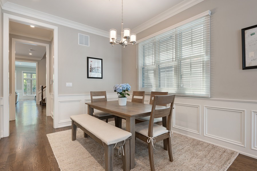 Real Estate Photography - 3932 N Bell Ave, Chicago, IL, 60618 - Breakfast Area
