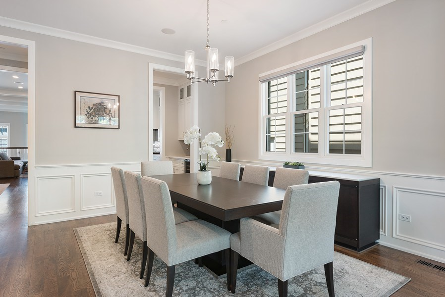 Real Estate Photography - 3932 N Bell Ave, Chicago, IL, 60618 - Dining Room